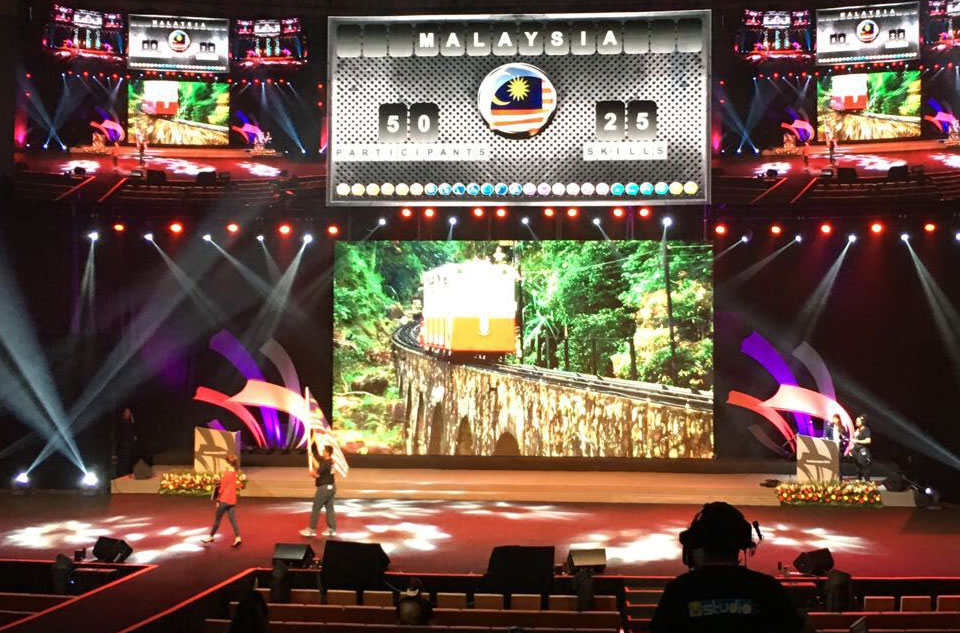 Cultural Promotion of Malaysia TV Studio